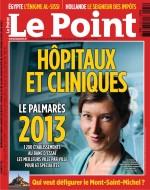 Classement du Centre Vision Ophtalmologique Ouest dans le Palmarès 2013 du journal Le Point N 2136 - 22 au 28 Aout 2013