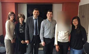 l'equipe du Centre Vision Laser Paris Ouest, centre d'ophtalmologie qui pratique la chirurgie refractive des yeux au laser